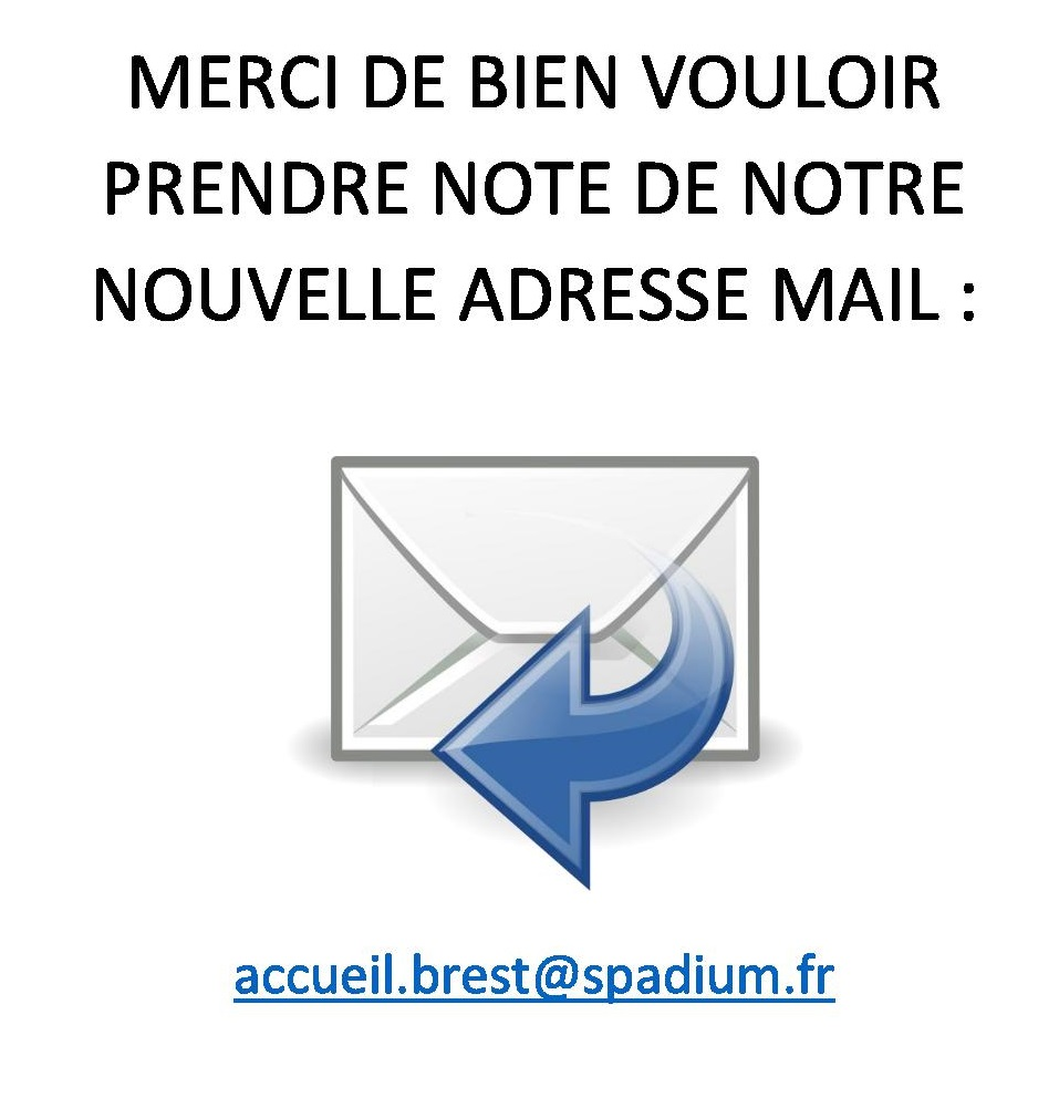 nouvelle adresse mail