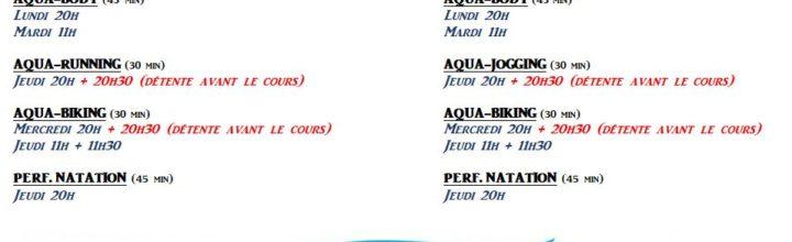 COURS ADULTES (rattrapage et multi-activités) : Inscriptions dès lundi 18 Juin