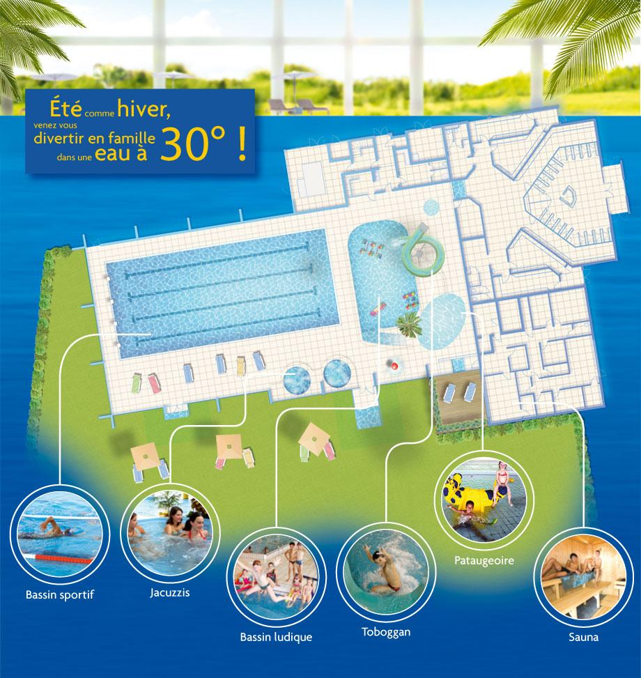 Spadium de langon en gironde 33 complexe aquatique for Construction piscine langon