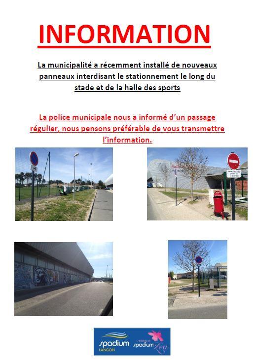 info stationnement