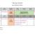 Planning d'activités des vacances d'hiver