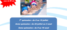stage été 2019 natation enfant